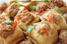 Vivian Pang Kitchen: Hakka Stuffed Tofu