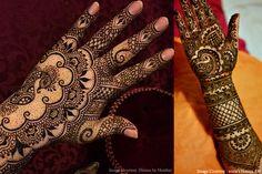 25 Mehandi designs for hands to inspire brides  #Ezwed #Mehendi #MehendiDesign #BridalDesign #Wedding #HandsMehendiDesign