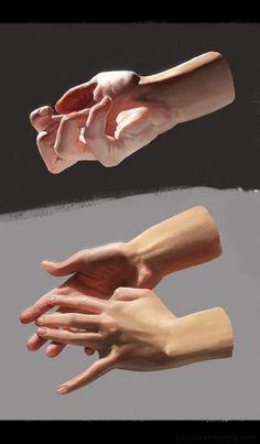 Hand study 1 by John Derek Murphy on ArtStation Hand Drawing Reference, Body Reference, Anatomy Reference, Art Reference Poses, Body Drawing, Anatomy Drawing, Anatomy Art, Life Drawing, Drawing Faces