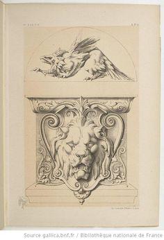 Specimens de la décoration et de l'ornementation au XIXe siècle / par Liénard - 45