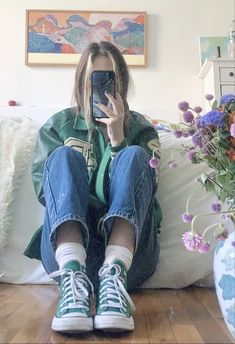 Indie Outfits, Adrette Outfits, Retro Outfits, Cute Casual Outfits, Vintage Outfits, Fashion Outfits, Grunge Outfits, Skater Girl Outfits, Skater Girls