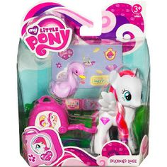 My Little Pony Friends - Diamond Rose - 2012 Verison My Little Pony Dolls, All My Little Pony, Little Pony Party, My Little Pony Drawing, My Little Pony Friendship, Toys For Girls, Gifts For Boys, Dora Toys, My Little Pony Poster