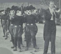 A bunch of creepy vintage Mickeys.
