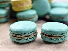 An easy step by step recipe for macarons, with many great tips.jpg