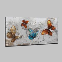 Acrylic Wall Art, Acrylic Canvas, Abstract Wall Art, Oil Painting On Canvas, Painting & Drawing, Canvas Art, Butterfly Painting, Butterfly Art, Pop Art