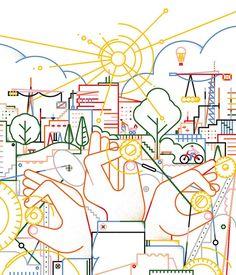 Graphic Design Illustration, Flat Design, Diagram, Projects, Instagram, People, Log Projects, Blue Prints, People Illustration
