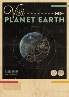 Hannes Beer: Visit Planet Earth - I dunno. The Yelp reviews aren't promising.