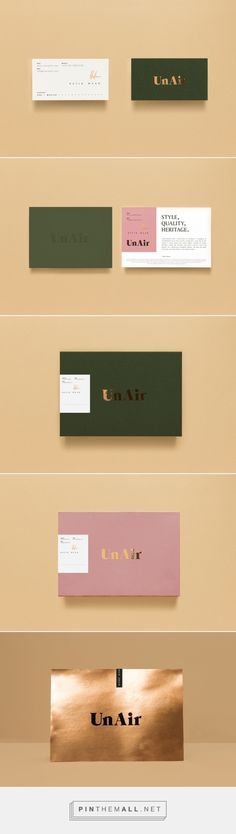 Unair Packaging and Branding