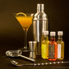 The Cocktail Kit from Firebox. Make Your Own, Make It Yourself, How To Make, Cocktail Recipes, Cocktails, Cocktail Shaker, Bars For Home, Barware, Bbq