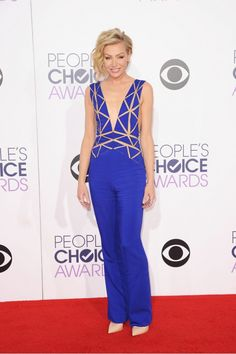 12 Hottest Looks From the People's Choice Awards via @WhoWhatWear