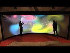 Touch Theater, iWall: Reality touchscreen University of Groningen, Olanda, 2011