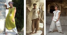 Немного солнца и мечты: одежда из льна и шелка от французских дизайнеров Cecile Guedj и Fabrice Broquerie - Ярмарка Мастеров - ручная работа, handmade