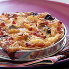 Tarte alsacienne aux oignons, facile et pas cher : recette sur Cuisine Actuelle