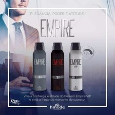 desodorantes empire fragrância - 150ml/90g - hinode
