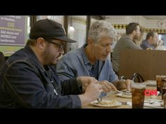 VIDEO: Sean Brock and Anthony Bourdain eat at Waffle House