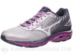Mizuno Wave Rider 19 Women's Shoes Lilac/White/Violet Lightweight Running Shoes, Workout Gear, Me Too Shoes, Women's Shoes, Waves, Sneakers, Amazing Women, How To Wear, Shopping