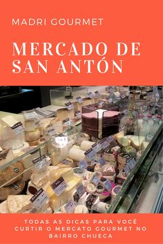 Todas as dicas para você ficar por dentro e curtir o Mercado de San Antón, o centro gourmet de Chueca, o bairro alternativo e criativo de Madrid   #espanha #gourmet