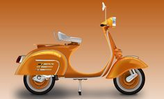 Members Area Tutorial: Create a Vespa in Adobe Illustrator