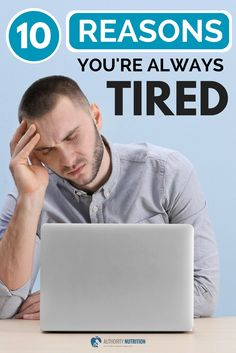 Feeling tired on a regular basis is extremely common. This article outlines 10 reasons why people feel tired, as well as what to do about it Health And Wellbeing, Health And Nutrition, Health Tips, Health Fitness, Nutrition Articles, Mental Health, Always Tired, Feel Tired, Fibromyalgia Flare Up