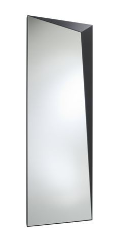 A trick of the eye. Trompe l'oeil by Bernard Moise x 70 x 7 cm. Designed to always be hung vertically. Entry Mirror, Moise, Ligne Roset, Room Planner, Wall Mounted Mirror, Oversized Mirror, Entrance, Entryway, Frame