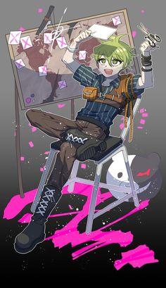 Amami Rantarou - New Danganronpa - Image - Zerochan Anime Image Board Monokuma Danganronpa, New Danganronpa V3, Danganronpa Memes, Nagito Komaeda, Danganronpa Characters, Anime Characters, Avocado Man, Rantaro Amami, Crime