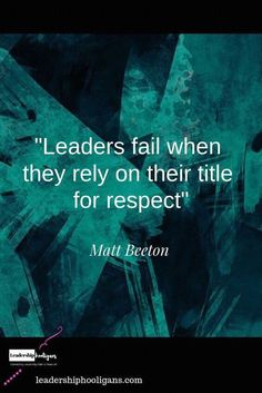 Leadership is not about titles. Leadership is about the way we influence the atmosphere around us through our values and actions. According to Ken Blanchard the key to successful leadership today is influence, never authority. Respect Quotes, Leadership Quotes, Wisdom Quotes, Success Quotes, Life Quotes, Spiritual Leadership, Happy Quotes, Positive Quotes, Motivational Quotes