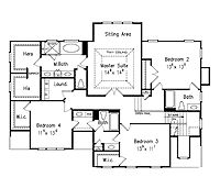 Traditional Colonial House Floor Plans 3 000 Feet Trend