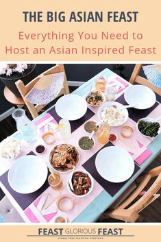 The Big Asian Feast (A Comprehensive Guide) – Feast Glorious Feast Dumpling Dipping Sauce, Serrano Ham, Tofu Stir Fry, Create A Cake, Steamed Cake, Big Cakes, Sweet Chilli, Dim Sum, Recipe Collection