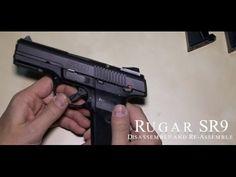 Ruger SR9 Disassemble Assemble