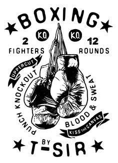 Boxing T-Sir design | Oscar Postigo