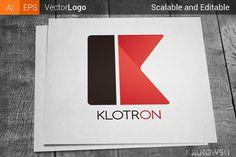 Check out Letter K Company Logo by Krukowski on Creative Market