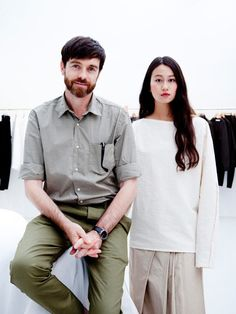 Christophe Lemaire and Sarah-Linh Tran