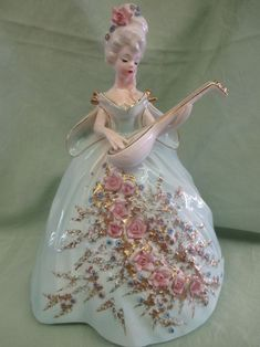 Fine Porcelain China Diane Japan Value Porcelain Dolls For Sale, Porcelain Jewelry, Fine Porcelain, Porcelain Ceramics, Painted Porcelain, Dresden Porcelain, Hand Painted, Birthday Angel, Doll Tattoo