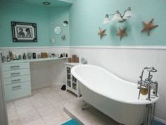 Beach Bathroom Decor | Beach Bathroom | Home Decor Ideas