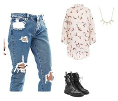 """""""Untitled #464"""" by aayushis on Polyvore featuring ASOS and Giuseppe Zanotti"""