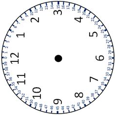 A document with a clock face showing hours and minutes annotated plus related linear number lines. Montessori Activities, Kids Learning Activities, Learning Clock, Clock Printable, Clock Template, Line Math, Preschool Classroom Decor, Clock Numbers, Math Graphic Organizers