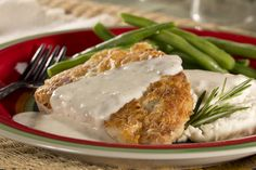 Backwoods Pork Chops with River Gravy | MrFood.com