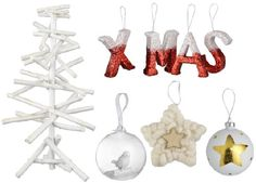 New #christmas collection 2014: White #christmasdecoration with natural materials by #Blokker! #kerst #kerstdecoratie #kerstballen #wit #natuurlijkematerialen
