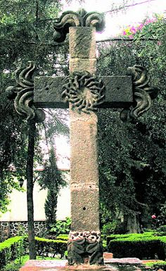 colonialmexico: Mexican Crosses: Mixcoac