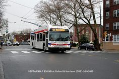 _SEPTA Rt.59@Oxford&Harrison  New Flyer  Trackless  Trolley