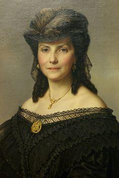 Orth, Benjamin Heinrich - Dame aus der Familie Aleiter-Sieglitz. c.1865 |