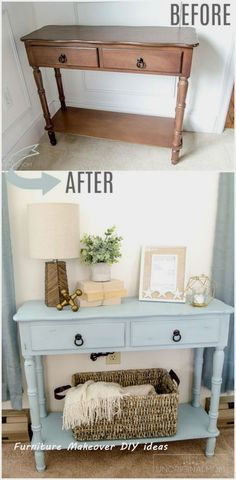 New Simple DIY Furniture Makeover and Transformation #homedecor #furnitureideas