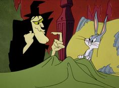 Image result for silhouette images of hocus pocus from bugs bunny