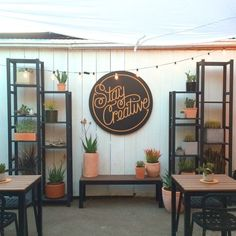 Creative Lettering Shops - 5 POINTS' Shop Appeals to Creative Millennials with Interactive Stations (GALLERY) @weare5points