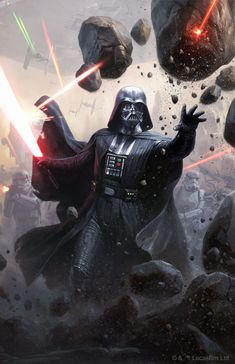 Star Wars™Legion - Limited Edition Darth Vader Commander Expansion for Star Wars Celebration Star Wars Fan Art, Vader Star Wars, Star Trek, Anakin Vader, Darth Vader Comic, Anakin Skywalker, Darth Maul, Darth Vader Poster, Cuadros Star Wars