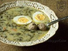 Gotowanie jest łatwe: Zupa szczawiowa z pulpecikami