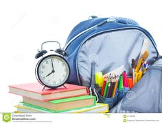 school bag check list illustrations - Google Search