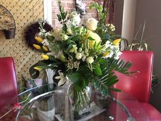 Brantford Blooms Florist offers unique arrangements for any occasion. With same-day day delivery, your flowers will surely brighten someone's day. Blooms Florist, Funeral, Flower Arrangements, Flowers, Unique, Plants, Floral Arrangements, Plant, Royal Icing Flowers