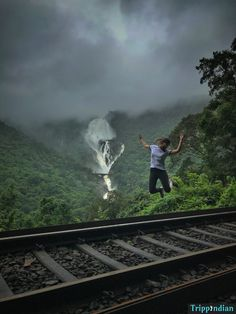 Dudhsagar trek in monsoon - how to reach Dudhsagar, where to start the trek, is there a need to hire a guide? One of the most thrilling treks of my life! Kerala Travel, India Travel Guide, Places To Travel, Travel Destinations, Places To Go, Train Tour, Photo Background Images, Travel Alone, Beautiful Places To Visit