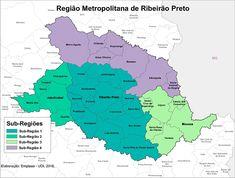 Mapa da RMRP